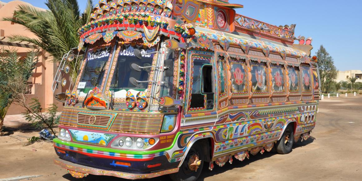 Pakistani Bus